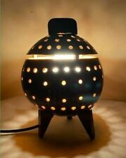 Wooden Bedside Table Lamp Shade Handmade Coconut Shell Wood Light Decoration