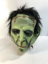Loftus Frankenstein Monster Mask w Black Hair - Adult One Size