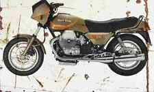 MotoGuzzi 850 T5 1985 Aged Vintage SIGN A3 LARGE Retro