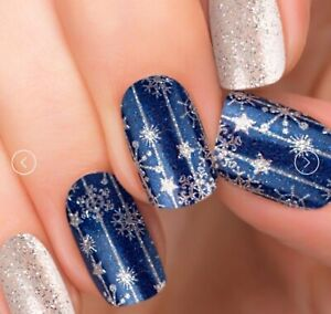 [incoco] Real Nail Polish Applique 16 Double-Ended Strips #Snow Festival