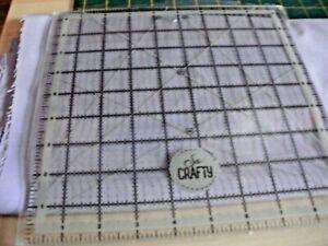 "So Crafty acrylic 9"" square"