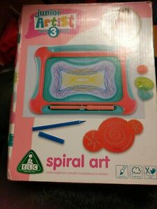 ELC Junior Artist Spiral Art For Ages 3 And Above. Used. Good but box damaged