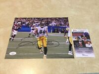 Pittsburgh Steelers Hines Ward Autographed Signed 8x10 Photo -  JSA