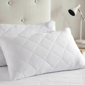 Extra Bouncy Luxury Bounce Back Hollowfibre Filling Pillows 1, 2 & 4 Packs