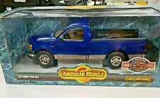 1997 FORD F150  XLT  ERTL COLLECTIBLES  ROYAL BLUE 1/18 AMERICAN MUSCLE   3697
