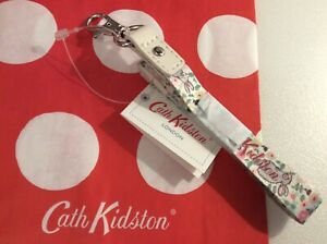 CATH KIDSTON  RABBIT BUNNY MEADOW FLORAL  LANYARD NEW WITH GIFT BAG