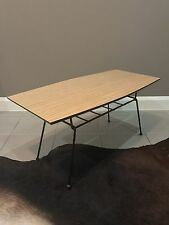 1950s Atomic Mid Century Modern Coffee Table With Magazine Rack CAN DELIVER