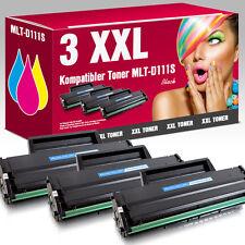 3 Toner für Samsung Xpress M2000 M2020W M2021W M2022W M2071HW M2078FW MLT-D111S