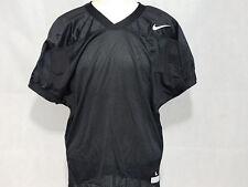 Nike Core Practice Mens Football Jersey Black Mesh t shirt Nwt Large L uniform