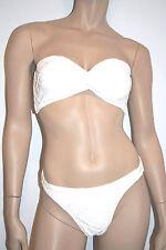 BIP BIP MAILLOT BAIN 2 p. BANDEAU Taille XL/FR44/EU42 Couleur Blanc 'Verlaine'