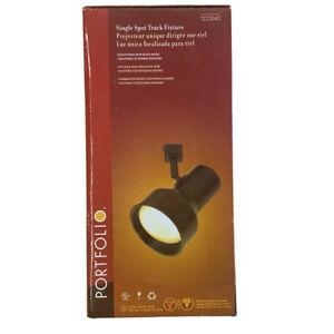 Portfolio Single Step Spotlight Linear Track Light Fixture, 75W Halogen Included