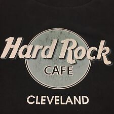 Vintage Hard Rock Cafe T-shirt Thin Soft Cleveland Restaurant Deli Casino Bar
