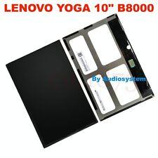 "DISPLAY LCD PER TABLET LENOVO YOGA TAB 10"" B8000 RICAMBIO SCHERMO CRISTALLI NEW"