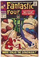 FANTASTIC FOUR#61 FN 1967 MARVEL SILVER AGE COMICS
