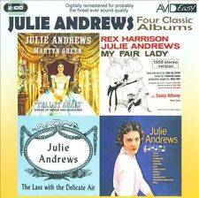 JULIE ANDREWS - FOUR CLASSIC ALBUMS NEW CD
