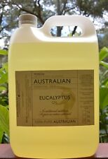 5 Litre 100% pure Australian Eucalyptus oil (blue mallee)