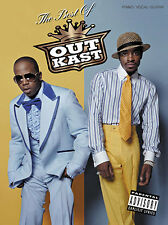 The Best Of Outkast Sheet Music HIP HOP G-FUNK FUNK ROCK Piano Guitar Book PVG
