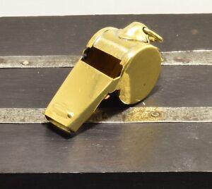 Sailor Steampunk style nautical Brass Whistle Charm pendant