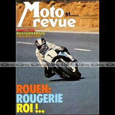 MOTO REVUE N°2262 SIDE-CAR JEWELL HONDA 1000 GOLDWING PUCH 250 EVERTS CROSS 1976