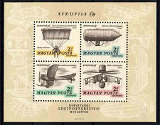 877A Hungary 1967 Intl Airmail  Exhibition S/S MNH