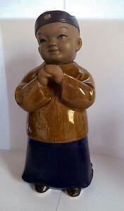 Keramikfigur Kind mit Wackelkopf