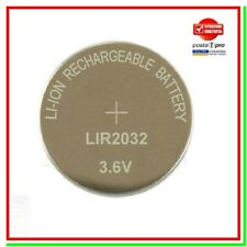 Pila Batteria LIR2032 Bulk LIR ML 2032 ML2032 3v Litio Lithium Ricaricabile