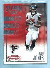 JULIO JONES - 2016 Panini Contenders - Card #41 - Falcons - Reduced Shipping