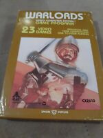 WARLORDS for ATARI 2600 ▪︎ BRAND  NEW ▪︎FREE SHIPPING ▪︎