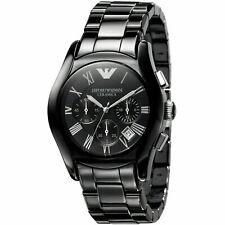 NWT Emporio Armani Men's AR1400 Ceramica Chronograph Watch