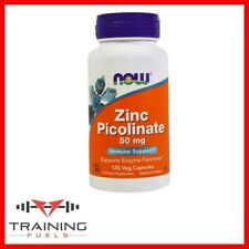 Now Foods Zinc Picolinate 50mg 120 Veg Caps, Enzyme Functions