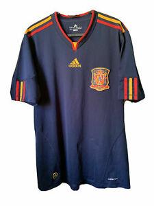 Spain Away Adidas 2010/2012 World Cup Shirt Jersey Camiseta Size M