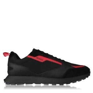 Hugo Boss Icelin Runners Mens Trainers Casual Footwear Sneakers Black/Navy