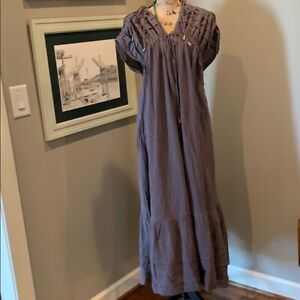 NEW! Free People Maxi Dress in Blacksand, size large