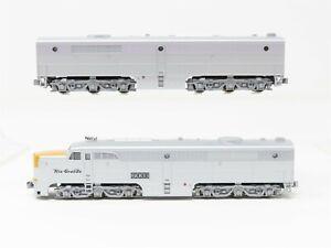 N Scale Kato D&RGW Rio Grande ALCO PA1/PB1 Locomotive Set #6003 & No# w/DCC
