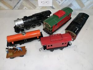 Lionel Caboose Locomotive Car Lot As Is Parts Listing More Engines Look