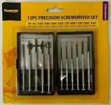 12PC Precision Screwdriver Set Eyeglass Watch Jewelry Repair Cell Micro Small