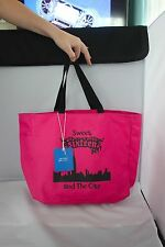 "NWT 16th Birthday Gift Cotton Tote Bag ""Sweet Sixteen in the City"" Hot Pink NYC"