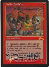 Foil Spanish Goblin Welder - Triple Signed by the Artist - Urza's Legacy MTG