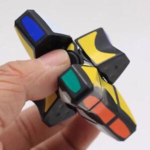 2 in 1 Fingertips Gyro Magic Rotating Cube Hand Finger Spinner Toys Kids Gifts