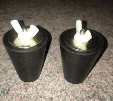 Winter Swimming Pool Rubber Expansion Plugs for Return Skimmer Fits #7 thru #10