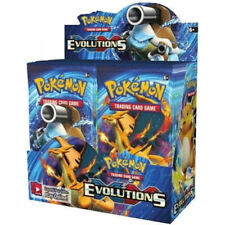 Pokemon Cards XY Evolutions Booster New Sealed TCG Card Game - 3 BOOSTER PACKS