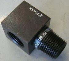 Hydraulic Adaptor 700 Bar SPX Powerteam 3/8npt Male x Female 90° Elbow