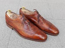 GRAVATI  - men's shoes . Antiqued painted tan leather