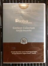 Creative Memories Scrapbooking StoryBook Creator Digital Simply Beautiful Cd