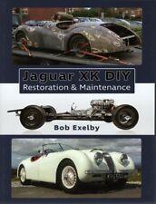 Jaguar XK 120 Roadster DIY Restoration & Maintenance - Buch book manual XK120