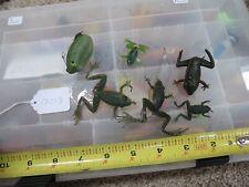 Vintage Frog fishing lures (lot#13213)