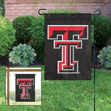 Texas Tech Red Raiders 15 x 10.5 Garden Flag with Window Hanger included