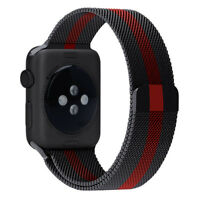 Stainless Steel Loop Wrist Band for Apple Watch iWatch Series 3 2 1 38mm/42mm