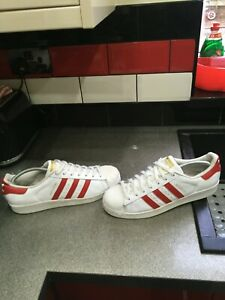 adidas superstar trainers size uk 9.5