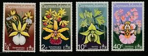 Cayman Is.   1971   Sc # 287-90   Orchids   MNH   (54145)